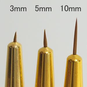 極細ネイル筆