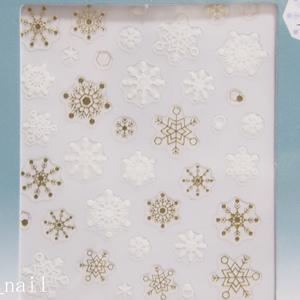 セリアネイルシール雪の結晶