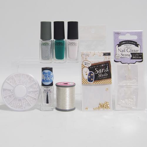 ネイルホリックリミテッドカラーSV075材料