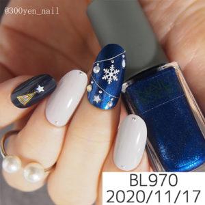 ネイルホリック冬オーナメントデザインBL970